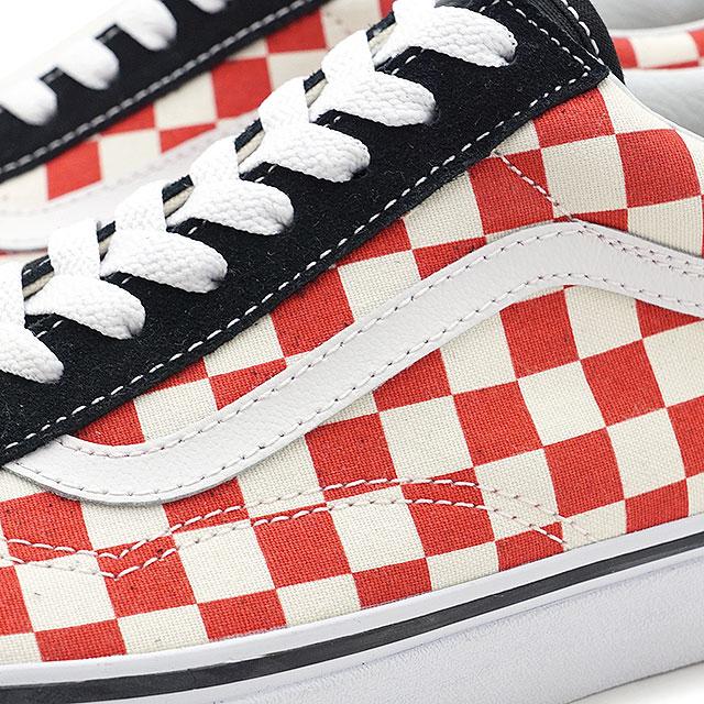fffc927fa7 VANS vans men sneakers shoes Checkerboard Old Skool checkerboard old school  black red black   red (VN0A38G135U SS18)