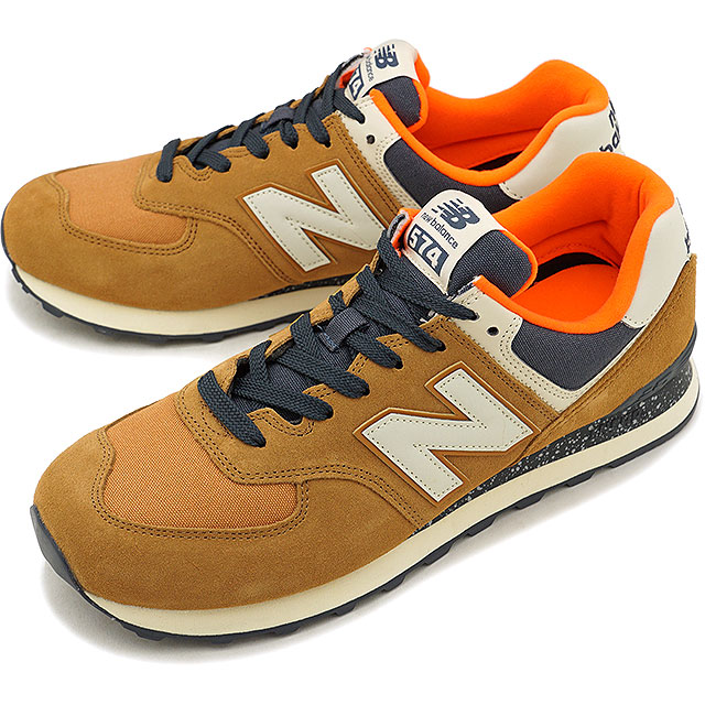 cheap for discount 32e82 87a63 newbalance New Balance men Lady's D Wise ML574 BROWN sneakers shoes  (ML574HVB FW18)
