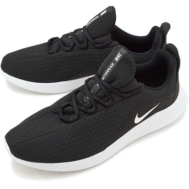 787ba2653377 NIKE Nike men sneakers shoes VIALE that black   white (AA2181-002 FW18) bi