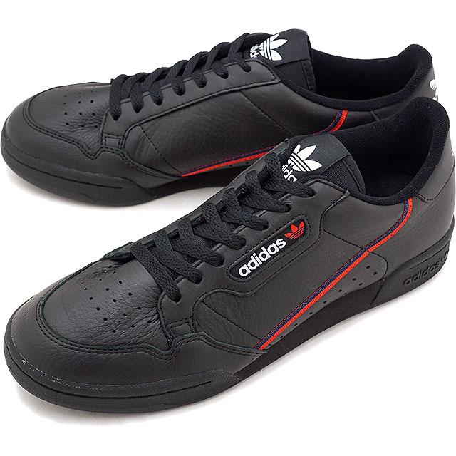 89902b399d7 adidas Originals Adidas originals CONTINENTAL 80 Continental 80 men s  sneakers shoes C black   scarlet  C navy (B41672 FW18)