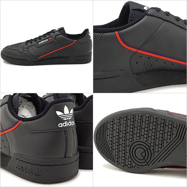 best sneakers 2b95d e1801 adidas Originals Adidas originals CONTINENTAL 80 Continental 80 mens  sneakers shoes C black  scarlet C navy (B41672 FW18)