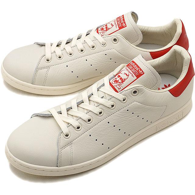 【25%OFF】【在庫限り】adidas Originals アディダス オリジナルス Stan Smith スタンスミス メンズ・レディース スニーカー 靴 Cホワイト/Cホワイト/スカーレット (B37898 FW18)【e】【ts】【コンビニ受取対応商品】