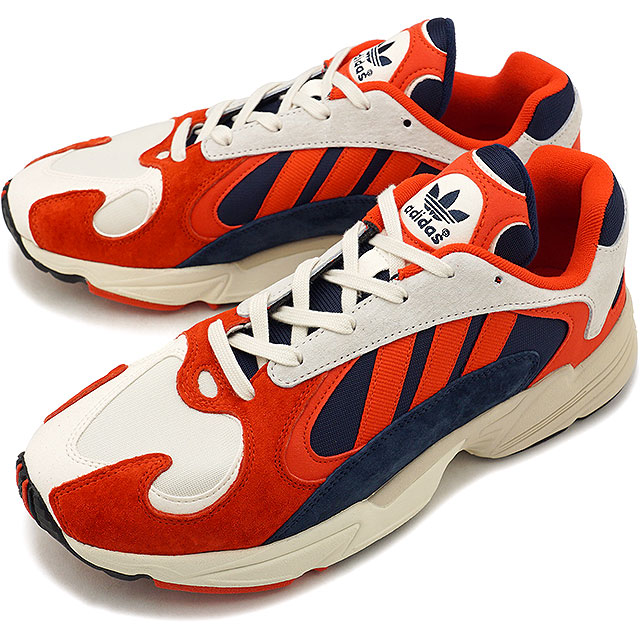 adidas Originals Adidas originals YUNG 1 young one men sneakers shoes C white C black C navy [B37615 FW18]