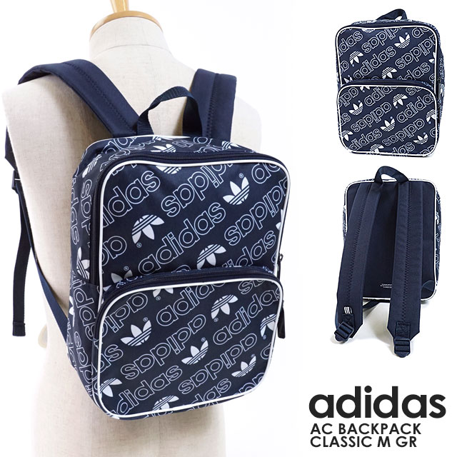 815ad044230a adidas Originals Adidas originals bag rucksack AC BACKPACK CLASSIC M GR AC  backpack classical music M GR day pack men Lady s (FJE23 DH3365 FW18)