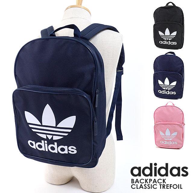 adidas Originals Adidas originals bag rucksack BACKPACK CLASSIC TREFOIL  バックパッククラシックトレフォイルデイパックメンズ Lady s (FKE68 DJ2170 DJ2171 ... 7518e80fdfb26