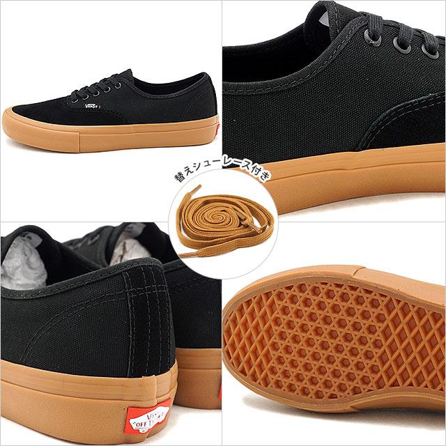 ddfde1d5f5b357 VANS station wagons AUTHENTIC PRO authentic professional vans sneakers  shoes BLACK CLASSIC GUM (VN000Q0DDUM FW18)