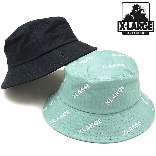 【完売】XLARGE エクストララージ バケットハット ALL OVER EMBROIDERY BUCKET HAT 帽子 メンズ・レディース [1182012 SU18]:mischief