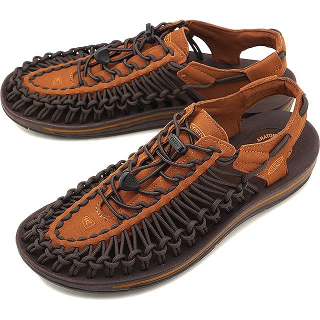 キーン KEEN メンズ ユニーク MEN UNEEK サンダル スニーカー 靴 Tortoise Shell/Adobe (1019936 FW18)【コンビニ受取対応商品】