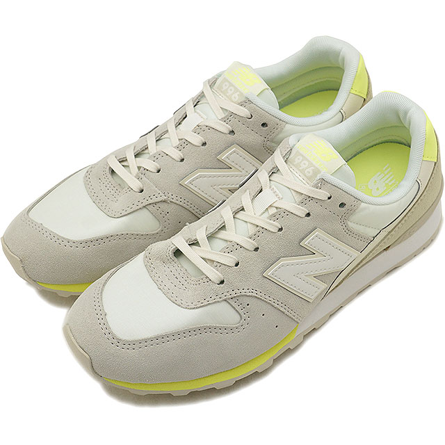 3036a9bd New Balance newbalance WR996STS Lady's sneakers white / lime (WR996STS)