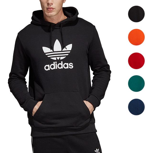 adidas Originals Adidas original spar Carmen TREFOIL HOODIE トレフォイルフーディープルオーバー [FTR10 FTR07DT7970 DT7963 DT7964 FW18]