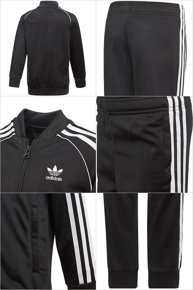 Adidas originals adidas Originals kids setup jersey SST SUIT superstar suit  black   white (FUI11 DV2849 SS19) 49a797b8c8