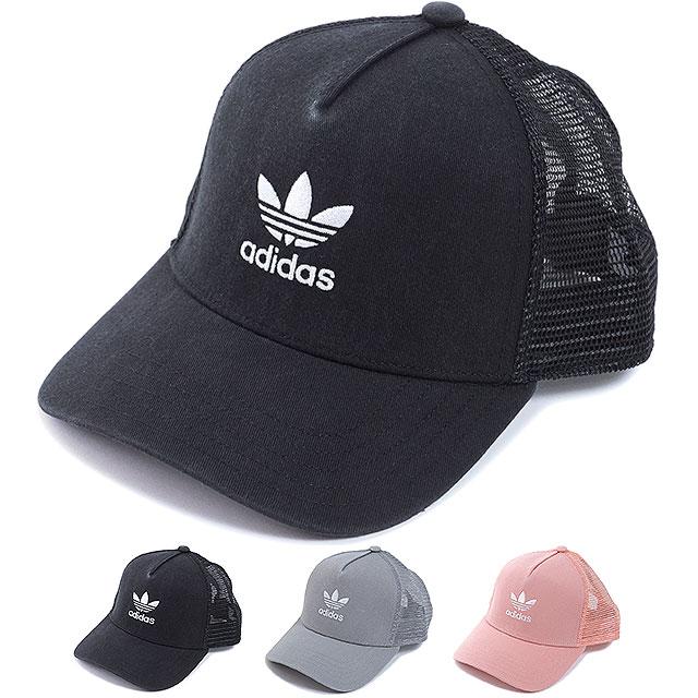 2698210a Adidas originals adidas Originals mesh cap TREFOIL TRUCKER  トレフォイルトラッカースナップバックメンズレディース hat ...