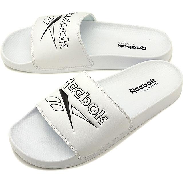 c9378286da65 Reebok classical music Reebok CLASSIC slide REEBOK CLASSIC SLIDE shower  sandals men shoes white  DV4909 SS19