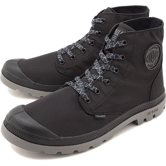 【5%OFFクーポン対象品】【即納】パラディウム PALLADIUM パンパ パドルライト WPプラス PUMPA PUDDLE LITE WP+ メンズ レディース スニーカー 靴 BLACK/METAL [76357-005 SS19]