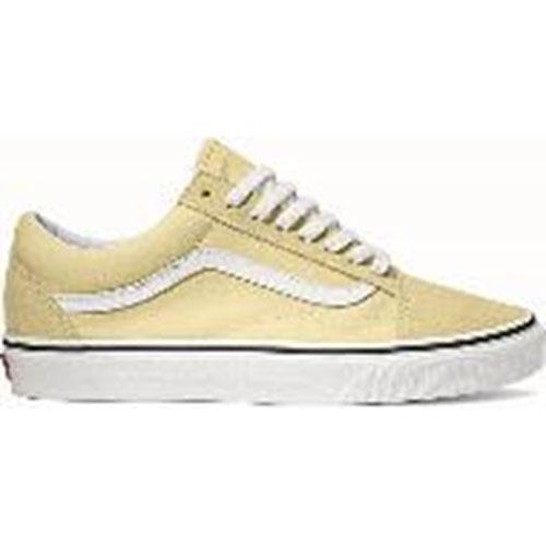 Vans VANS old school OLD SKOOL Lady's station wagons sneakers shoes VANILLA CUSTARDTRUE WHITE [VN0A38G1VKV SS19]