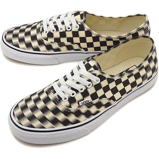 Vans VANS ブラーチェックオーセンティック BLUR CHECK AUTHENTIC men gap Dis station wagons  sneakers shoes BLACK CLASSIC WHITE (VN0A38EMVJM SS19) 4f85de5a4c