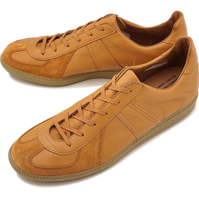 【即納】リプロダクション オブ ファウンド REPRODUCTION OF FOUND ジャーマン ミリタリー トレーナー GERMAN MILITARY TRAINER メンズ レディース ジャーマントレーナー スニーカー 靴 LIGHT CAMEL [1700L SS19]