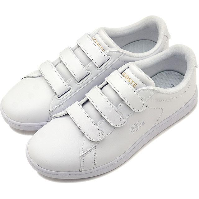 【即納】ラコステ LACOSTE レディース カーナビー エボ WMS CARNABY EVO STRAP 1191SFA スニーカー 靴 WHT/WHT ホワイト系 [SFA024-21G SS19]