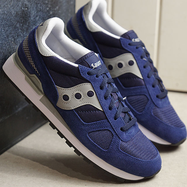 free shipping c35dd 9ac29 サッカニー Saucony shadow original SHADOW ORIGINAL men gap Dis sneakers shoes  NAVY/GREY navy system [2108-523 SS19]