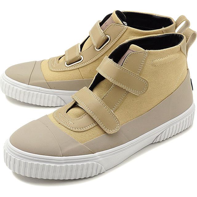 【5%OFFクーポン対象品】【即納】スラック SLACK ブレント BLENT メンズ レディース ベルクロ スニーカー 靴 SAND BEIGE/WHITE ベージュ系 [SL1545-366 SS19]