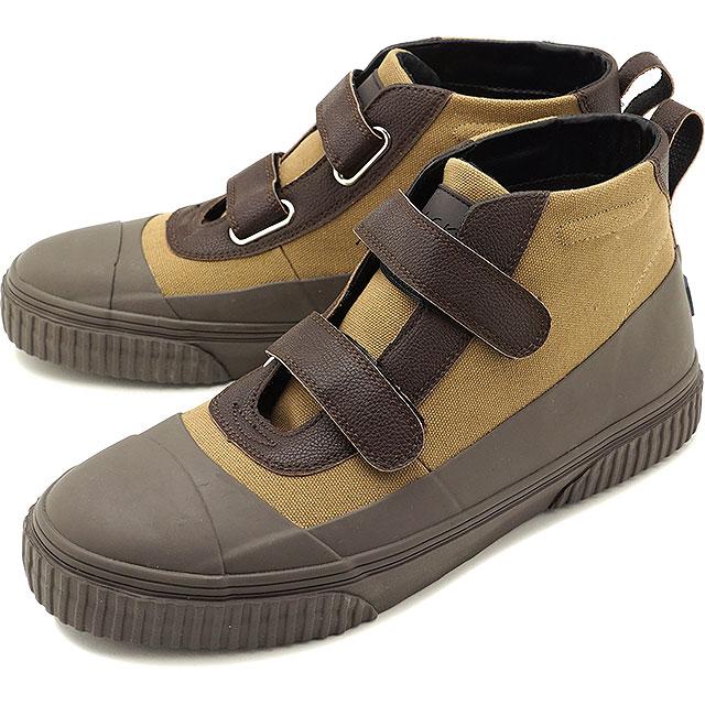 【50%OFF/SALE】スラック SLACK ブレント BLENT メンズ・レディース ベルクロ スニーカー 靴 KHAKI/DARK BROWN カーキ系 [SL1545-598 SS19]【ts】【e】