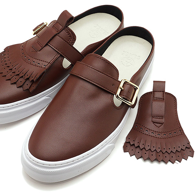 MAVIS 【即納】 ブラウン系 靴 [SL1569-654 SS19] メンズ WHITE クロッグ メイビス SLACK BROWN/ スニーカー レディース スラック