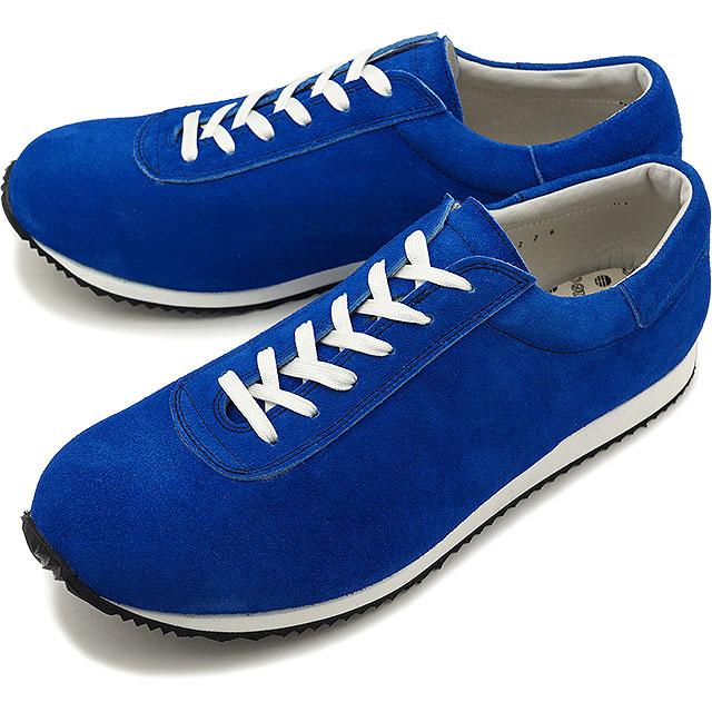 【即納】ブルーオーバー blueover マイキー MIKEY メンズ 日本製 ベロアレザー スニーカー 靴 BLUE ブルー系 [SS19]