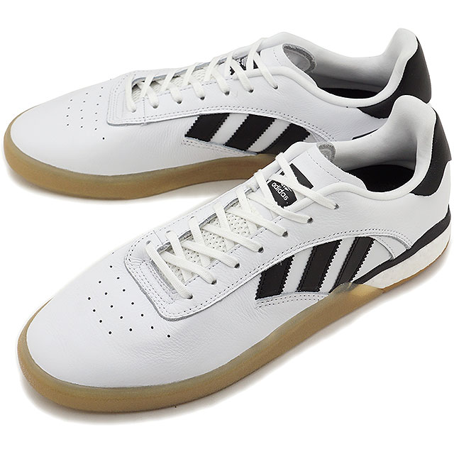 【5%OFFクーポン対象品】【即納】アディダス スケートボーディング adidas SKATEBOARDING メンズ 3ST.004 スケートシューズ スニーカー 靴 R.WHITE/C.BLACK ホワイト系 [DB3153 SS19]