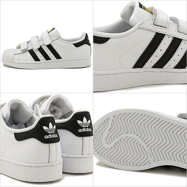 the best attitude 57366 2785a Adidas originals adidas Originals superstar foundation CFC SS FOUNDATION CF  C Velcro sneakers kids Jr. shoes running white  B26070 SS19