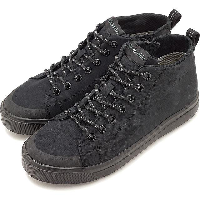 【即納】コロンビア Columbia ホーソンレイン2 アドバンス オムニテック HAWTHORNE RAIN II ADVANCE OMNI-TECH メンズ レディース レインシューズ 防水透湿スニーカー ビブラム メガグリップ 靴 Black [YU0256-010 SS19]