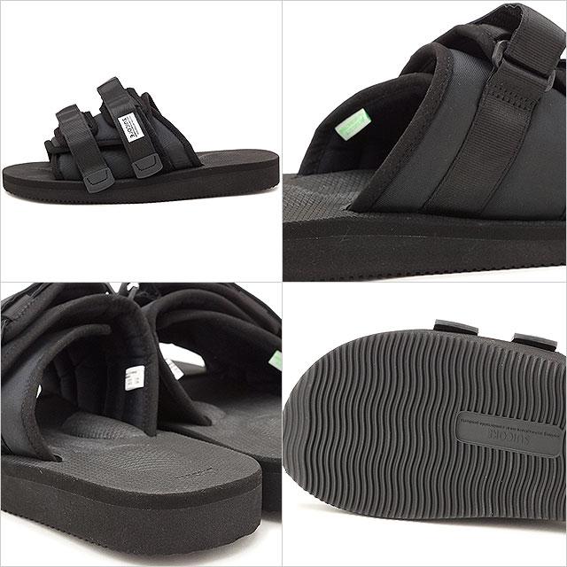38b0a1a04f0d mischief  Sui cook SUICOKE slide sandals MOTO-CAB men gap Dis BLACK ...