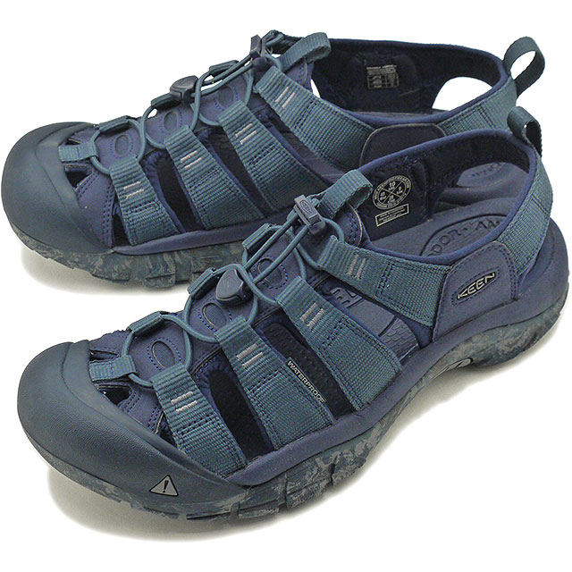 4ca03bff8ff3 Kean KEEN men Newport H two MEN NEWPORT H2 sandal Blue Nights Swirl Outsole   1020286 SS19