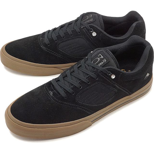 【5%OFFクーポン対象品】【即納】エメリカ Emerica REYNOLDS 3 G6 VULC メンズ レディース スケシュー スニーカー 靴 BLACK/GUM [SS19]