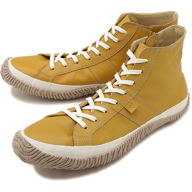 【返品送料無料】スピングルムーブ SPINGLE MOVE 日本製 カンガルーレザー SPM-443 メンズ レディース スピングルムーヴ スニーカー 靴 Mustard [SPM443-19 SS19]