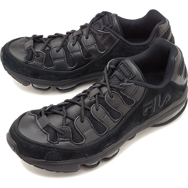 Fila FILA Silva sweat shirt SILVA TRAINER men レディースダッドスニーカー shoes black black black [F0247 0001 SS19]