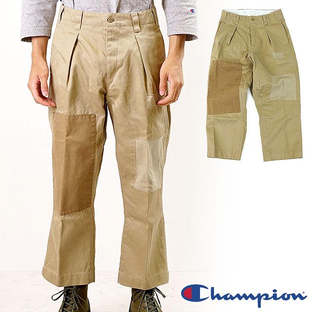 【50%OFF/ラスト1着】チャンピオン Champion メンズ ブローケン チノパンツ BROKEN CHINO PANTS [C3-P204 SS19]【ts】【e】