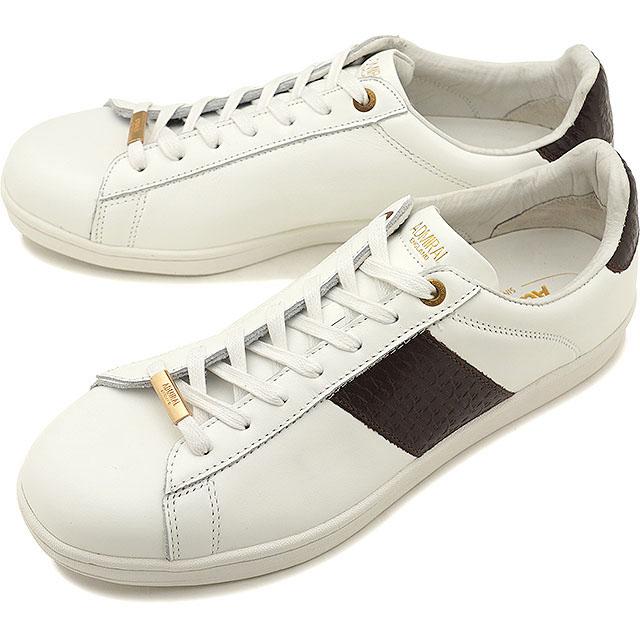 アドミラル Admiral パークランド2 PARKLAND 2 メンズ レディース スニーカー カジュアル 靴 White/Brown [SJAD1902-0108 SS19]