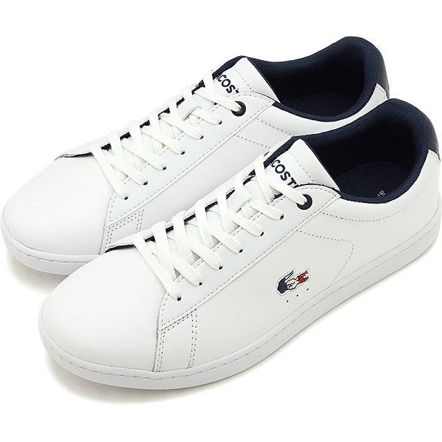 【即納】ラコステ LACOSTE レディース カーナビー エボ WMS CARNABY EVO 119 7 SFA スニーカー 靴 WHT/NVY/RED ホワイト系 [SFA016-407 SS19]