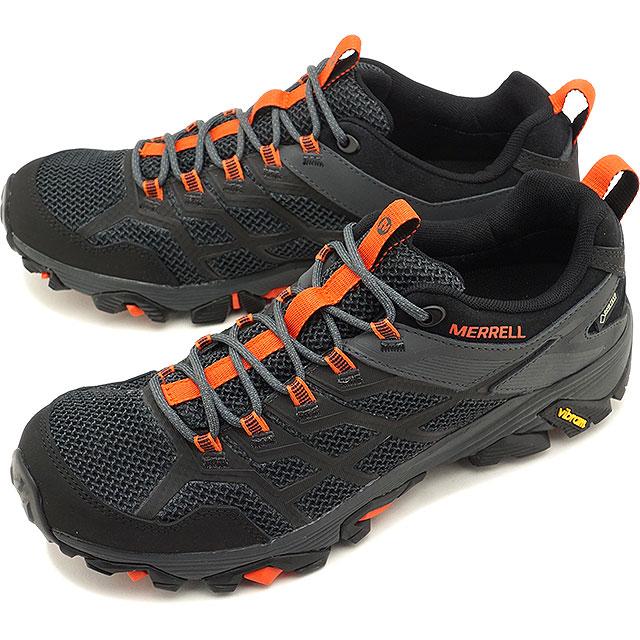 d669691700ff4 メレル MERRELL men Moab FST2 Gore-Tex MNS MOAB FST2 GORE-TEX hiking trekking  shoes sneakers shoes BLACK/GRANITE black system [77443 SS19]