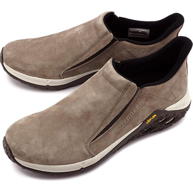 【即納】メレル MERRELL メンズ ジャングルモック2.0 MNS JUNGLE MOC 2.0 スリッポン カジュアル コンフォート スニーカー 靴 BOULDER ブラウン系 [94527 SS19]