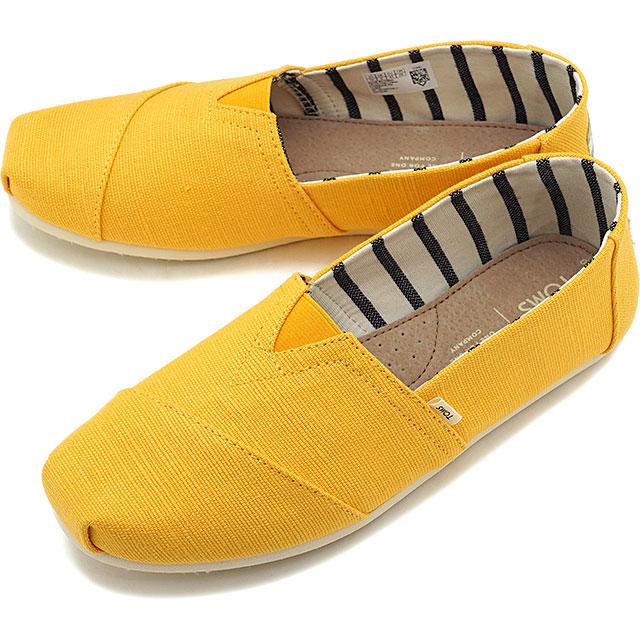 c138d98c66f Tom s TOMS men espadrille slip-ons MNS Alpargata Thoms shoes shoes Gold  Fusion Heritage Canvas yellow  10013540 SS19