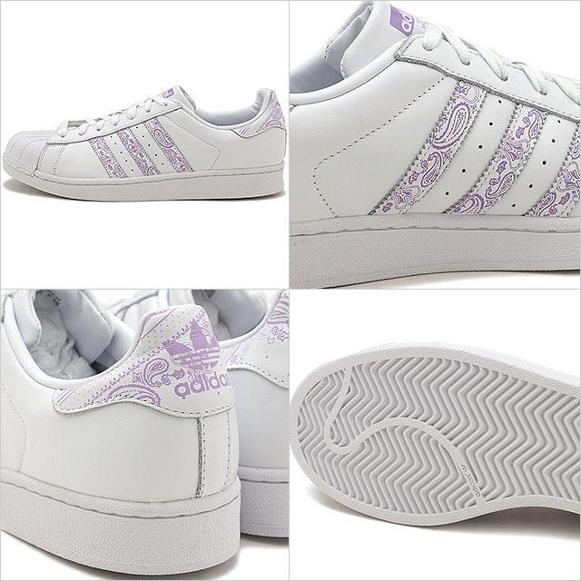 Adidas originals adidas Originals superstar SUPERSTAR men Lady's sneakers shoes R white purple glow S16 white system [BTO45BD7429 SS19Q2]