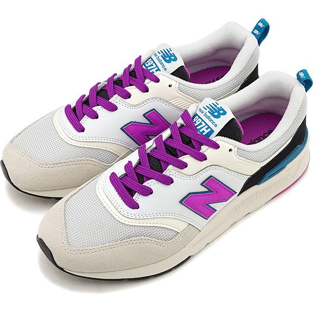 9a0e6523 New Balance newbalance CW997H NA Lady's sneakers shoes WHITE/PURPLE white  system [CW997HNA SS19]