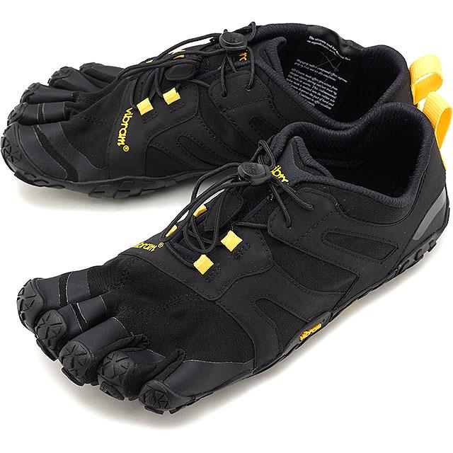 ビブラムファイブフィンガーズ Vibram FiveFingers メンズ Vトレイル2.0 M V-Trail 2.0 5本指 トレイルランニングシューズ トレラン Black/Yellow ブラック系 [19M7601 SS19]