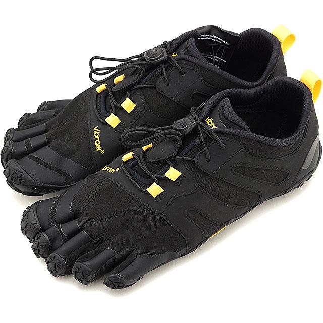 ビブラムファイブフィンガーズ Vibram FiveFingers レディース Vトレイル2.0 W V-Trail 2.0 5本指 トレイルランニングシューズ トレラン Black/Yellow ブラック系 [19W7601 SS19]