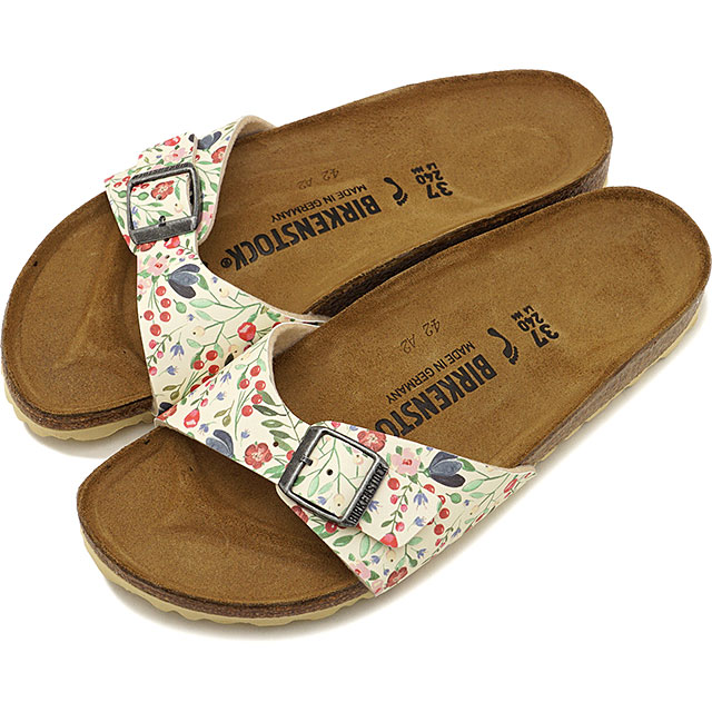 100% authentic 00cd8 b1007 ビルケンシュトック BIRKENSTOCK Madrid Madrid men gap Dis sandal Meadow Flowers Beige  [GC1012774 GC1012775 SS19][ts]