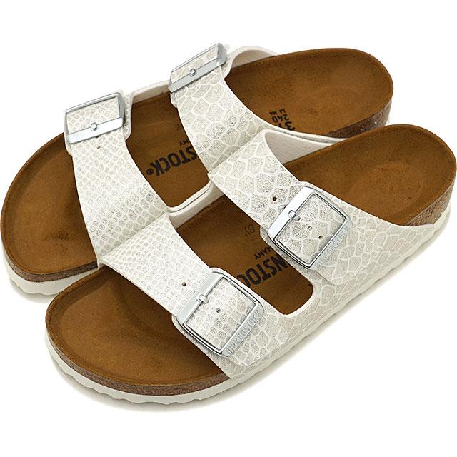 ビルケンシュトック BIRKENSTOCK アリゾナ Arizona メンズ レディース サンダル 靴 Magic Snake White [GC1009126 GC1009127 SS19]