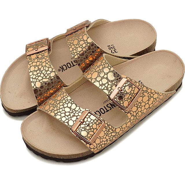ビルケンシュトック BIRKENSTOCK アリゾナ Arizona メンズ レディース サンダル 靴 Metallic Stones Copper [GC1006684 GC1006685 SS19]