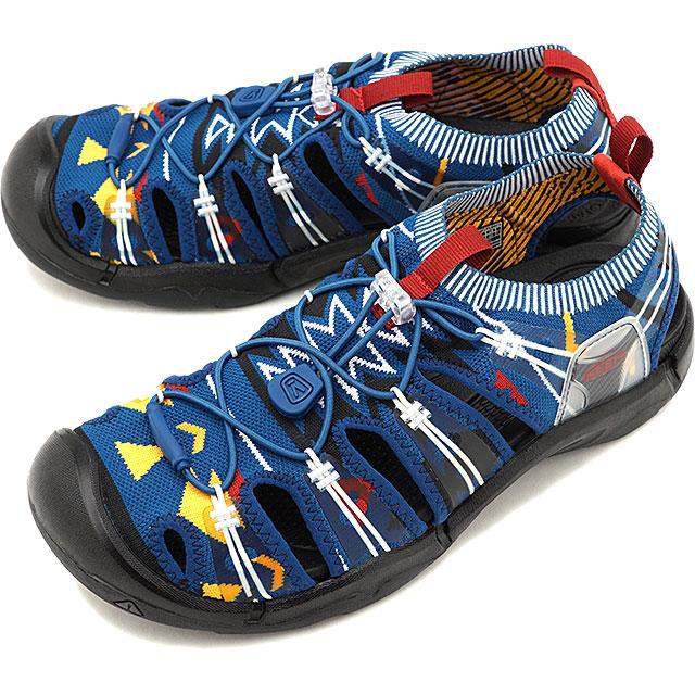 【先着でオリジナルグッズプレゼント!】キーン KEEN メンズ エヴォフィット ワン MEN EVOFIT 1 サンダル 靴 Turquoise/Black [1021395 SS19]