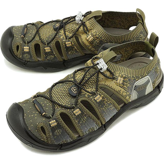 【先着でオリジナルグッズプレゼント!】キーン KEEN メンズ エヴォフィット ワン MEN EVOFIT 1 サンダル 靴 Dark Olive/Antique Bronze [1021388 SS19]